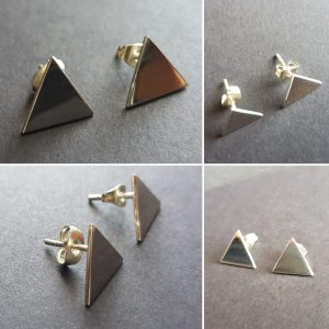 Solid triangle stud